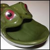 frog ashtray
