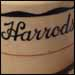 Harrods' topmarked cup - an unknown user - with a Virginia border (Underglaze Print Pattern #6059) and the St. Louis pattern (Underglaze Print Pattern #7000), which is also known as Ellwood.