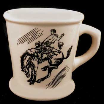 Carr China Bucking Bronco