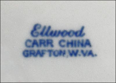 Ellwood pattern, Carr China