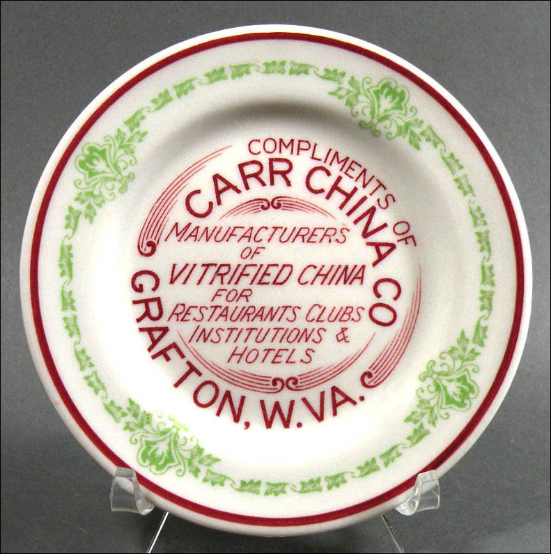 Advertising Plate