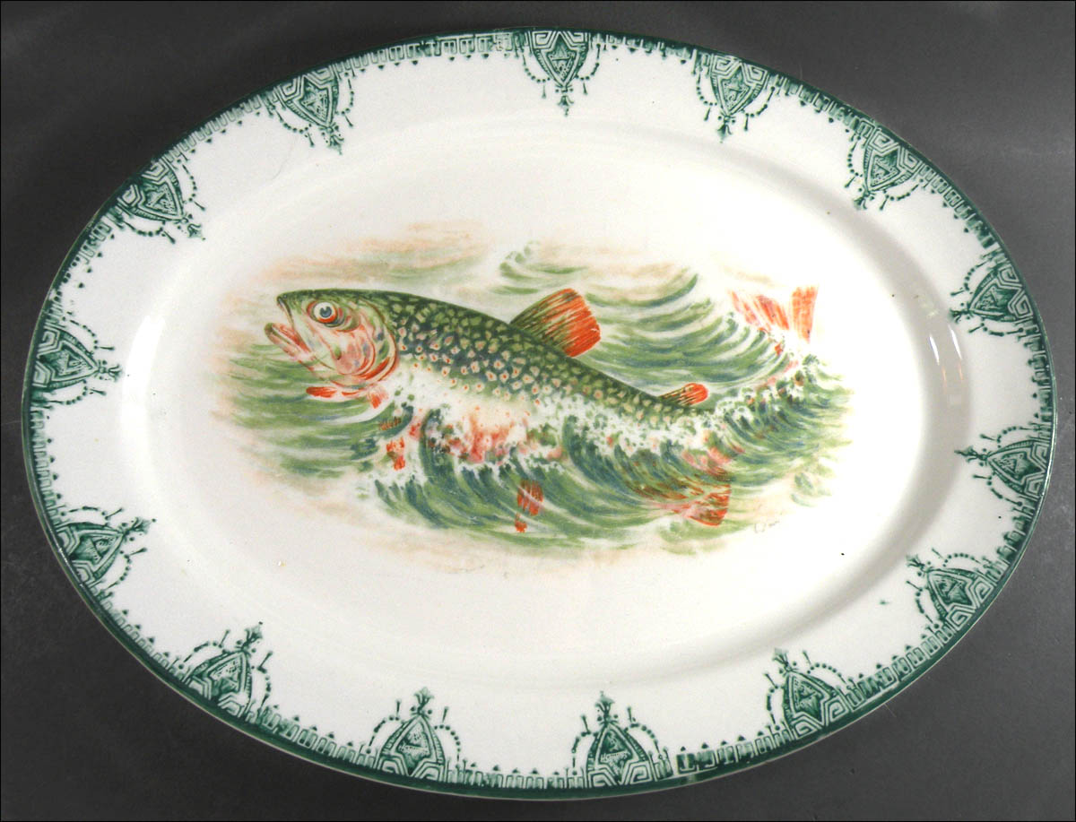 Fish Overglaze Decal