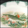 Fish Decal Platter